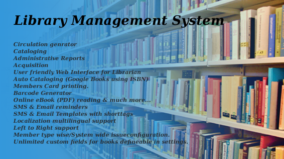 Library Management System (LMS) – Open Technology Solutions